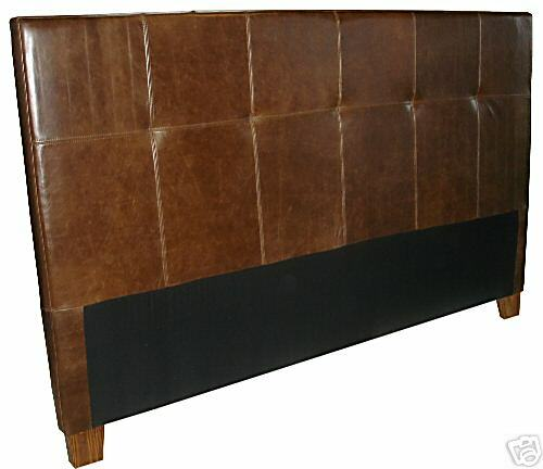 king size genuine leather headboard for bed