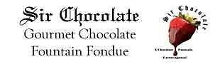 Sir Chocolate Fountain Fondue