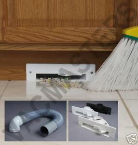 Central Vacuum VacPan & Install kit! BLACK Vac Pan