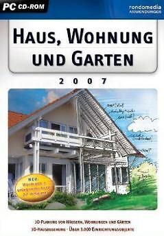 RAUM WOHNUNG HAUS und GARTEN PLANER 3D 2007 ** BRANDNEU