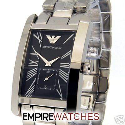 NEW** MENS EMPORIO ARMANI LARGE FACE WATCH   RRP £195