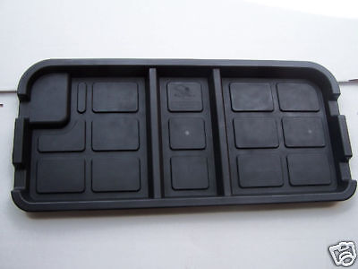Club Car Golf Cart Underseat Storage Tray fits DS 1982-Up 36V 6-Battery Electric